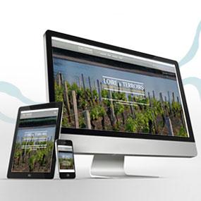 """Nouveau site internet pour """"Loire & Terroirs"""""""