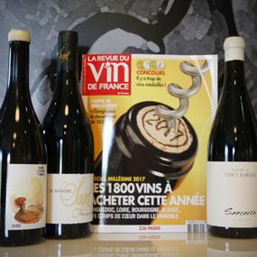 Nos vins cités dans la RVF Spécial Millésime 2017