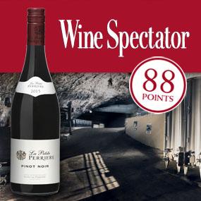 """Wine Spectator sélectionne La Petite Perrière Pinot Noir dans les 100 """"Rouges les plus élégants"""""""