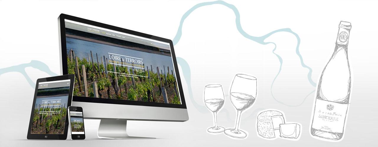 Nouveau site internet loire et terroirs