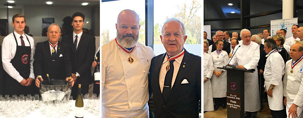 sancerre domaine de terres blanches soirée proclamation meilleurs ouvriers de france 2018 cuisine gastronomie