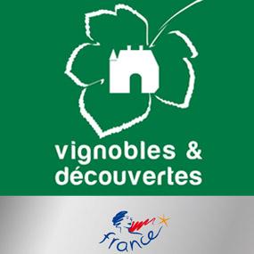 Obtention du label Vignobles & Découvertes