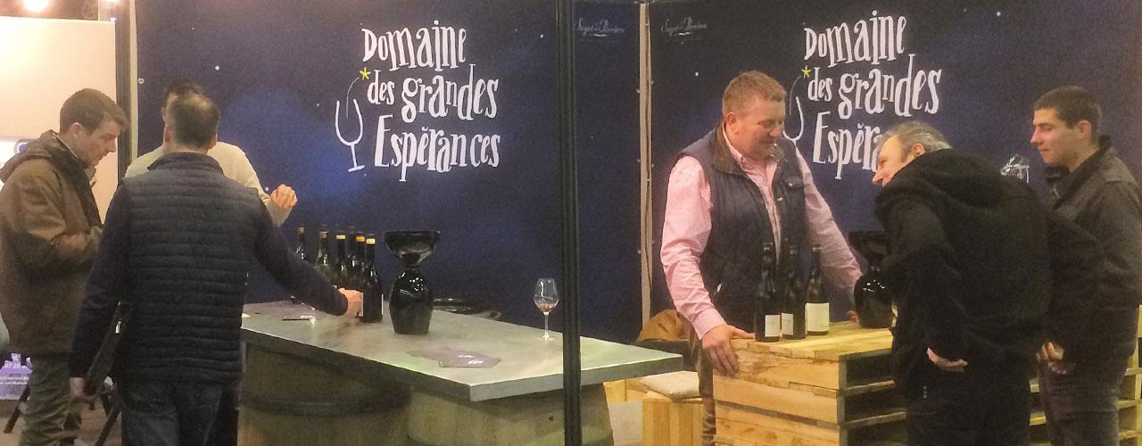 les grandes esperances au salon des vins de loire d angers 2016