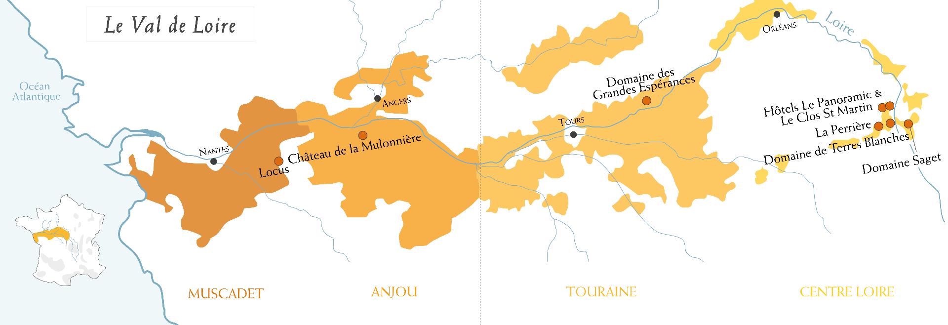 Saget La Perrière Loire Valley Wine Producer Loire